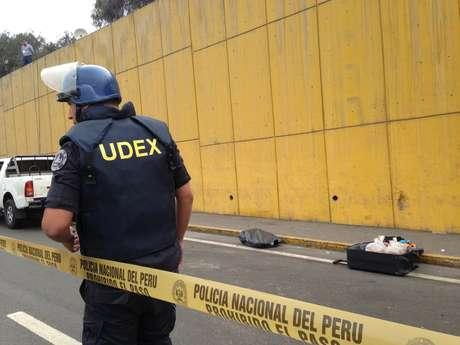 Detienen a dos personas con gran cantidad de explosivos — Surco