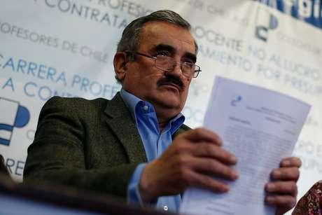 Jaime Gajardo estaría perdiendo las elecciones del Colegio de Profesores