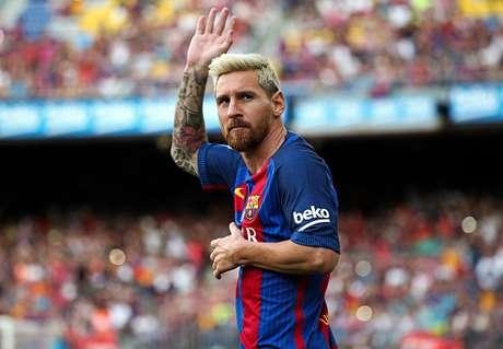 Messi marcó dos goles y alcanzó otro récord