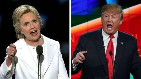 A ex-candidata democrata Hillary Clinton ainda não pediu recontagem de votos e Trump também não se manifestou sobre o assunto