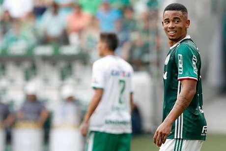 Gabriel Jesus fez sua despedida no Allianz Parque; atacante já está vendido para o Manchester City