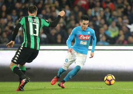 Callejón foi titular no Napoli (Foto: Carlo Hermann / AFP)