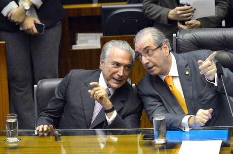 Temer foi arrolado como testemunha de defesa de Eduardo Cunha