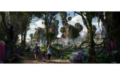 Projeto visual do parque