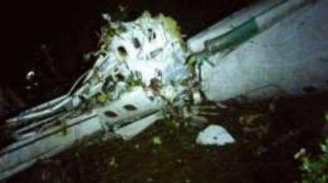 O avião da companhia boliviana Lamia caiu numa área de montanhas quando se aproximava da cidade de Medellín