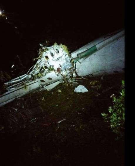 Relatos indicam que avião teve pane elétrica