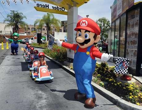 Las nuevas áreas temáticas son el resultado de una alianza global entre Universal Parks & Resorts y Nintendo.