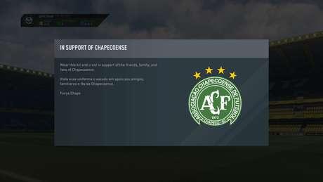 El tributo del 'FIFA 17' para el Chapecoense