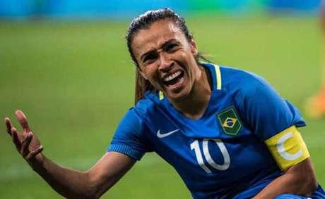 Marta esteve nos Jogos Olímpicos do Rio de Janeiro, mas não levou medalha para casa (Foto:AFP)