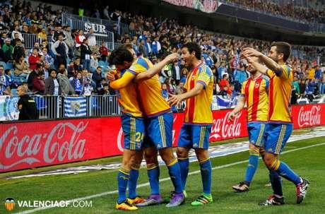 Valencia não conseguiu segurar a vitória e levou um empate muito amargo no final (Foto: Divulgação)