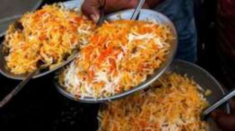 O biryani é um prato que une as pessoas