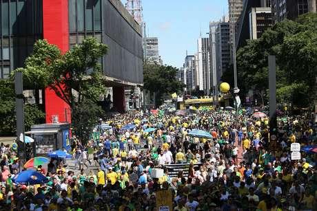 Avenida Paulista, em São Paulo (SP)