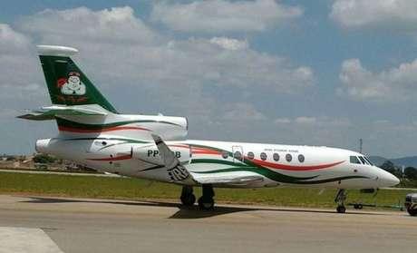 O Air Pork One, avião de Paulo Nobre avaliado em R$ 17 milhões, ficou famoso por buscar Gabriel Jesus e Mina de jogos de suas respectivas seleções a tempo de jogarem pelo Palmeiras