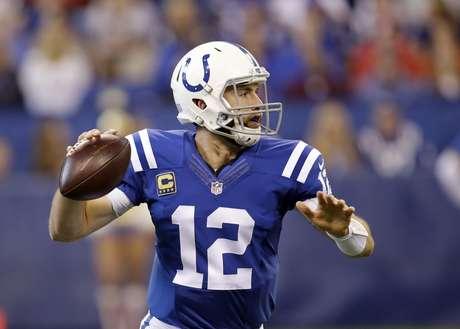 Andrew Luck vuelve enchufado con Colts en paliza 41-10 sobre Jets