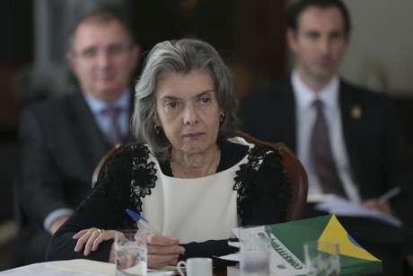 Cármem Lúcia, presidente do STF