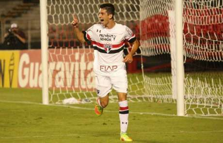 Shaylon é um dos destaques do sub-20 do São Paulo (Foto: Afonso Pastore/saopaulofc.net)