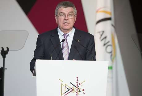 Thomas Bach, presidente do Comitê Olímpico Internacional