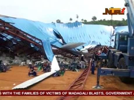 Desmoronamento de uma igreja evangélica deixou mais de 100 mortos na Nigéria