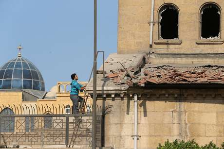 Igreja no Cairo em que ocorreu a explosão
