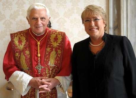 Benedicto XVI recuerda a Bachelet como