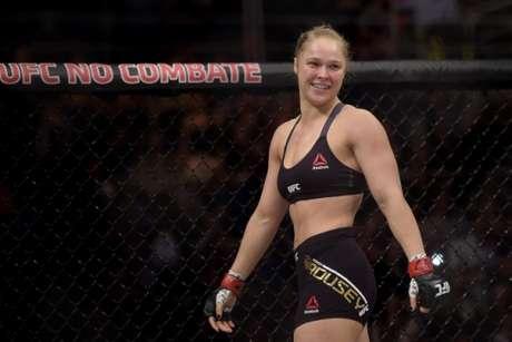 Ronda Rousey se destacou no UFC com belas vitórias, mas perdeu título em novembro