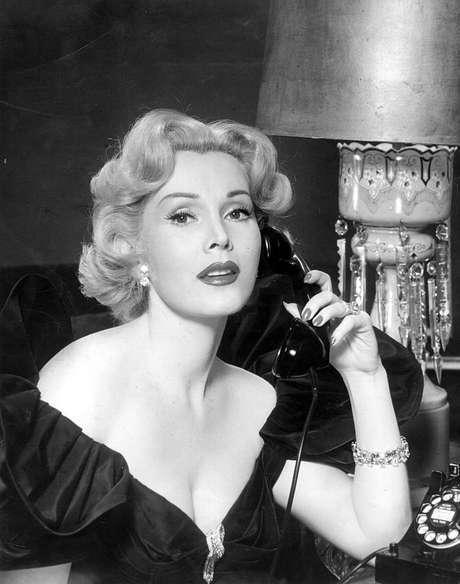 Zsa Zsa Gabor em foto de 1950