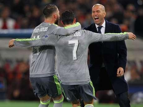 Zidane está há um ano no comando do Real Madrid