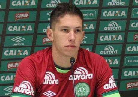 Follmann é o único sobrevivente da tragédia que segue internado (Foto: Divulgação/Chapecoense)