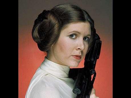 Carrie Fisher viveu a icônica personagem princesa Leia na trilogia 'Star Wars'