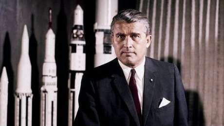 Wernher von Braun, um dos criadores do programa espacial dos EUA