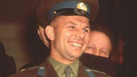 Gagarin, o sorriso emblemático símbolo do domínio soviético na corrida espacial