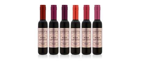 São seis cores que remetem ao mundo dos vinhos