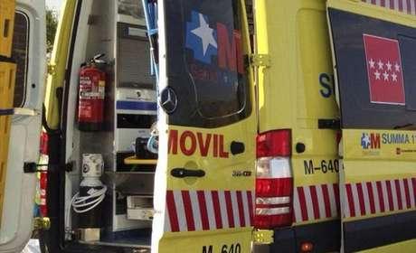 Imagen de archivo de una ambulancia del Summa 112