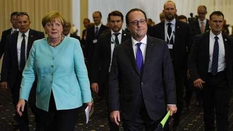 Em setembro do ano passado, os líderes da UE, exceto a primeira-ministra britânica, Theresa May, se reuniram em Bratislava, capital da Eslováquia, para discutir temas como migração, segurança, globalização e recuperação econômica