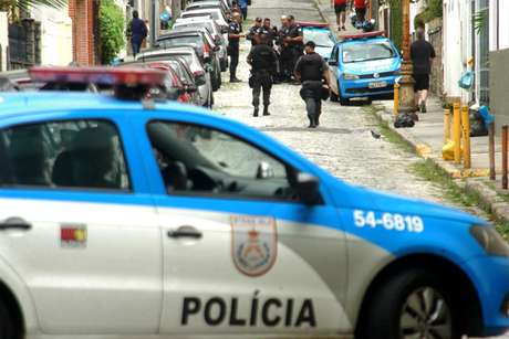 Polícia Militar durante operação no Rio