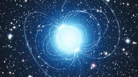 Outra possível explicação já apresentada é que as ondas são geradas por uma magnetar - estrela de neutrôns com um campo magnético poderoso