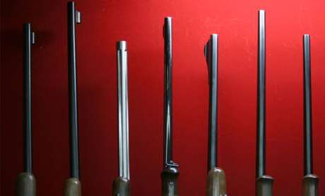 Espingardas de caça e rifles de ar comprimido são as únicas armas que se pode comprar legalmente no Japão