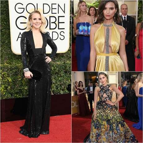 Hubo aciertos y crímenes de moda en loas Golden Globe 2017.