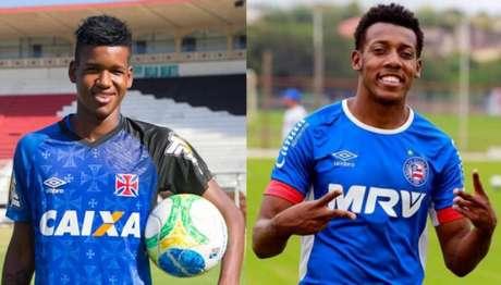 Moisés pode chegar para disputar vaga de titular com Alan Cardoso (Foto: Divulgação Vasco / Felipe Oliveira l EC)