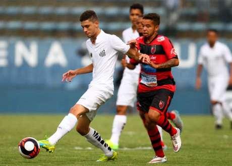 Santos teve maior posse de bola (Foto: Ricardo Moreira/Lancepress!)