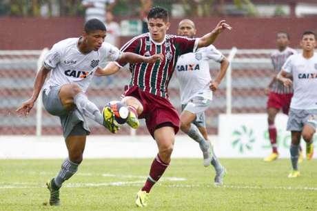 Fluminense venceu o Figueirense nesta quarta-feira e avançou na Copinha (Foto: Marco Galvão)