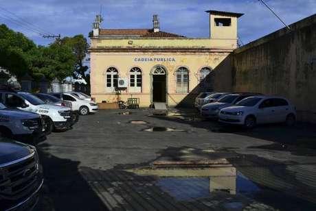 Fachada da Cadeia Pública Desembargador Raimundo Vidal Pessoa, em Manaus (Agência Lusa/Direitos Reservados)
