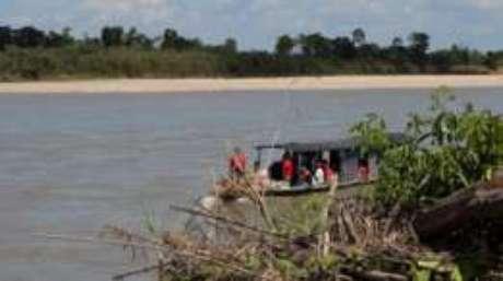 Não há nenhum controle de fronteira do lado colombiano na área de Saravena