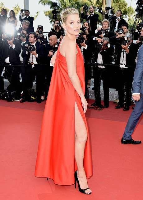 Kate Moss nació el 16 de enero de 1974.