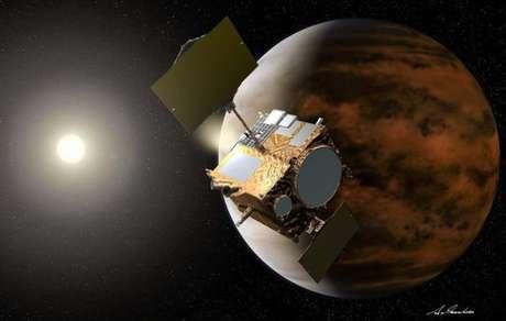 Akatsuki foi lançada em maio de 2010 e chegou à órbita de Vênus em dezembro de 2015