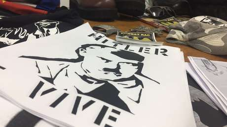 Material de propaganda neonazista