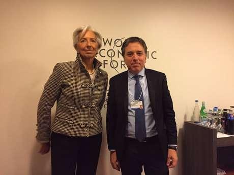 La directora del FMI felicitó el rumbo económico