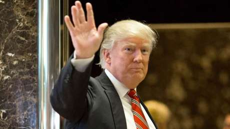 O presidente recém-empossado dos EUA, Donald Trump