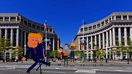 Público de 750 mil pessoas é aguardado em Washington a partir de 9h30 horário local; após desfile pelas ruas, presidente dançará em baile comemorativo.