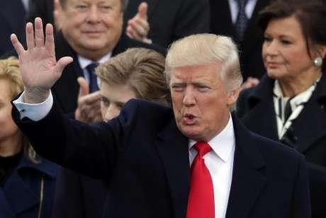 Donald Trump tomou posse como o 45º presidente dos Estados Unidos com um discurso nacionalista e protecionista que preocupa os líderes mundiais